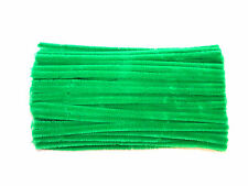 Children's Green Pipe Cleaners | 6mm or 12mm | 30cm Length