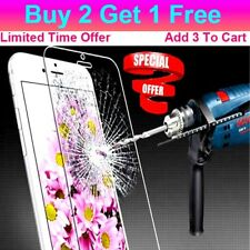 Buy 2 Get 1 Free Tempered Glass Screen Protector For iPhone 4 5 6 6S 7 7 Plus