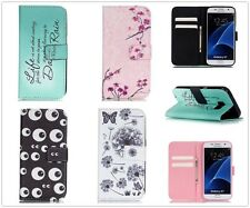 Pretty Wallet Flip Leather Case Cover Stand For iPhone 5 SE 6 6S Plus Samsung LG