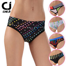 CHEJI Cycling Underwear Women Bike Briefs Padded Bicycle Shorts /  Underpants