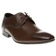 New Mens SOLE Brown Jowett Leather Shoes Lace Up