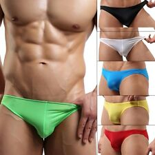 Sexy Men Mini Soft Brief Underwear Bikini Swimwear Low Rise Underpants Nightwear