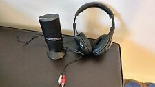 My Zone wireless tv headphones with tower Receiver Listen To HDTV Privately