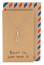 Whisk Necklace Chef Silver Tone Culinary Kitchen Cook Baking Charm Pendant Gift