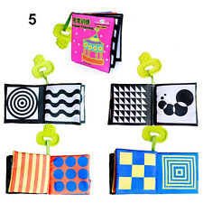 Kids Baby Intelligence development Soft Cloth Cognize Book Educational Toy