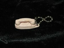 "Vintage Bell ""The Princess Phone"" Rotary Dial Telephone Keychain - New Old Stock"