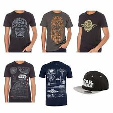 Official Disney Star Wars Rogue One Licensed T-Shirts + Snapback