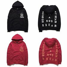 The Life Of Pablo Hoodie Sweater Feel Like Pablo Casual Hiphop Sweatshirts