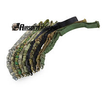 Tactical One Point Rifle Sling Outdoor Airsoft Gun Strap Bungee Sling Paintball