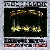 PHIL COLLINS - SERIOUS HITS - GREATEST HITS LIVE CD - IN THE AIR TONIGHT +
