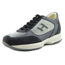 Hogan New Interactive Uomo All H Flock Men   Suede Blue Fashion Sneakers