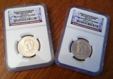 *** 2010 P & D Fillmore $1 MS 65 NGC First Day Issue –  DollarCoin Set ***