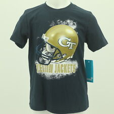Georgia Tech Yellow Jackets Youth Size NCAA Football Official T Shirt New W Tags