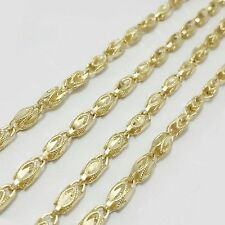 """3MM New Women's Ladies 10KT Gold Turkish Chains 18""""-24"""" Inches"""