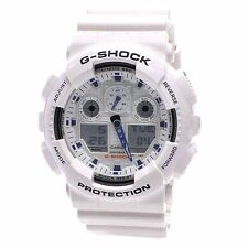 Casio GA-100-1A4 GA-100 G SHOCK Mens Watch Analog-Digital Sport White Japan