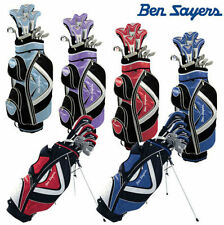 """""""NEW 2017"""" Ben Sayers M15 Full Golf Clubs Complete Package Set Cart / Stand Bag"""