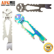 Army Force Gear NEW Punisher Skull  Multi-Tool Key-ring Chain Beer Opener