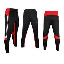 Mens Sports Soccer Training Football Sweat Pants Athletic Casual Skinny Trousers
