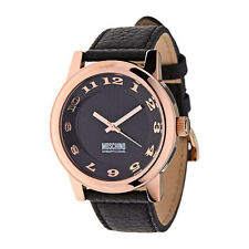 Moschino Black Face Cheap and Chic Mens Analog Casual Black Watch MW0264