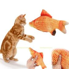 Pet Cat Toy Stuffed Fish Interactive Kitten Toys Play Chewing Rattle Scratch