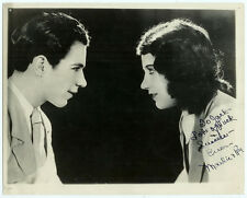 RARE VINTAGE SIGNED ACTORS VAUDEVILLE HOLLYWOOD Autographed Maudie and Roy Photo
