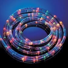 Multi Coloured Rope Lights 6/10/20/25 Metre Outdoor/Indoor Party Christmas Xmas
