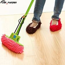 New Dusting Dust Mop Broom Cleaning Slippers Shoes Floor Cleaner Slippers