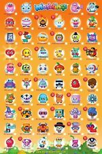 New Moshlings Tick Chart Moshi Monsters 2 Poster