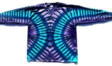 BMD Highway Blues Gildan Mens Unisex S-3XL Long sleeve Tie Dye T Shirt, Tie Dyed