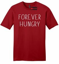 Forever Hungry Funny Mens Soft T Shirt Food Party College Humor Gift Tee Z2