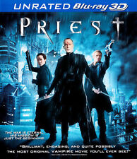 Priest (2011 Paul Bettany) (Unrated Version) 3D BLU-RAY NEW