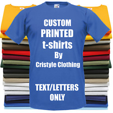 Custom Printed Personalised T-Shirts STAG CHARITY RUN PROMO SLOGANS 25 Colours