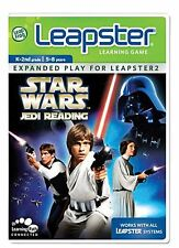 New Star Wars Jedi Reading LeapFrog Leapster & Leapster 2  Learning Game 5-8 Yrs