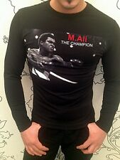 THE CHAMPION M.ALI RUMBLE IN THE JUNGLE DEEP O-NECK LONG SLEEVE SHIRT