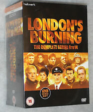 London's Burning Complete Series 8-14 - 28 DVD Box Set - NEW & SEALED