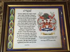 Colquhoun to Conner Family Coat of Arms FRAMED - Over 1,000,000 Names available