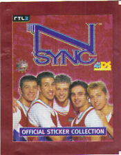 N-Sync Sticker Collection -Justin Timberlake 9 Packs