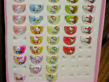 Hello Kitty Ring Style #4 Kids Lucite Rings. GREAT Party Favors. CUTE