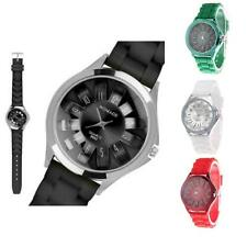 Luxury Fashion Designer Ladies Men's Sports Brand Silicone Jelly Wrist Watch New