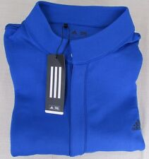 ADIDAS GOLF Men's Performance Athletic Fashion Layer Track Jacket Blue XXL NEW