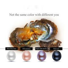 4.pc/8.pcs/12.pcs/16.pcs 7-8mm round akoya pearl in oyster Birthday Gifts