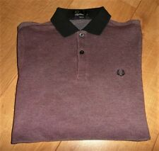 SMART Fred Perry TONIC Polo Shirt Size SMALL Slim Fit M3232 men FOOTBALL CASUAL