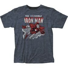 Iron Man - Flying Marvel Comics Officially Licensed Adult T Shirt