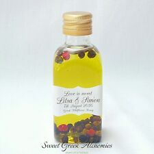 "10 pcs ""Zeus"" Olive Oil Favors (50ml / 1.7oz), Olive Oil Wedding Favors"