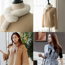 Women's Real Rabbit Fur Scarf Shawl Collar Stole Cape Low Profit Scarves Wrap