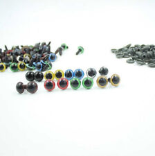 100pcs Puppet 12mm Animal Eyes Plastic Safety NEW Craft For Teddy Bear Doll