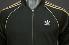 Adidas Superstar Track Top Dark Green/gold Mens