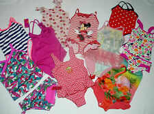 Girls Swimming Costumes Swimsuits Tankini Disney Minnie Mouse 2-3 4-5-6 years