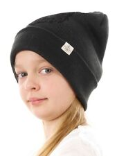 Barts Beanie Knitted Winter Hat black Animal motif warming trendy