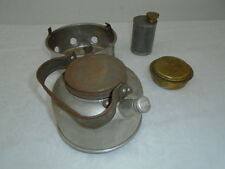 Vintage Sirram Camp-Fire Stove and Kettle